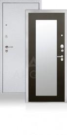 СЕЙФ-ДВЕРЬ АРГУС «ДА-86/2 МИЛЛИ ДУБ БЕЛЕНЫЙ» серебро на белом